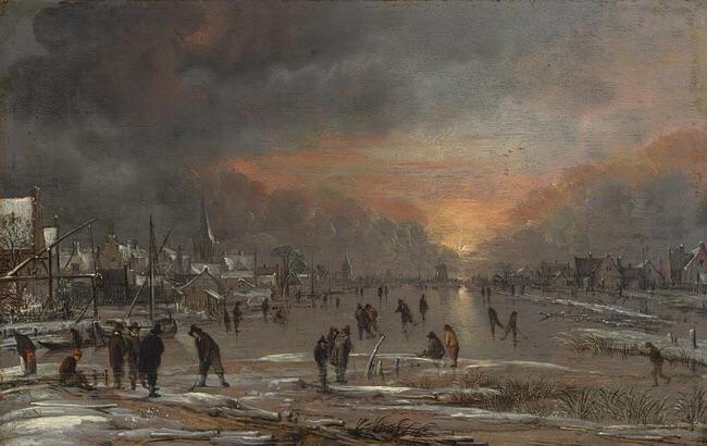 image met museum dutch landscape