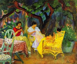 image Lebasque painting