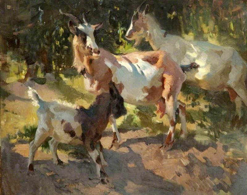 Adamson, Dorothy; Goats; Walker Art Gallery; http://www.artuk.org/artworks/goats-98481